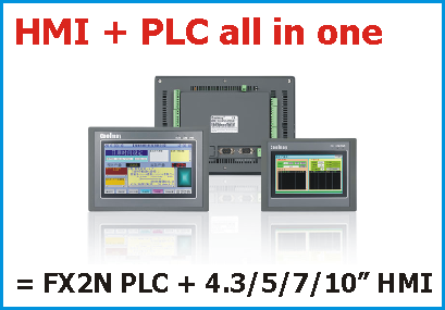 HMI/PLC all in one