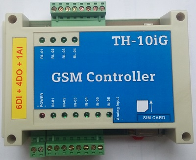 GSM/GPRS 6DI/4DO/1AI
